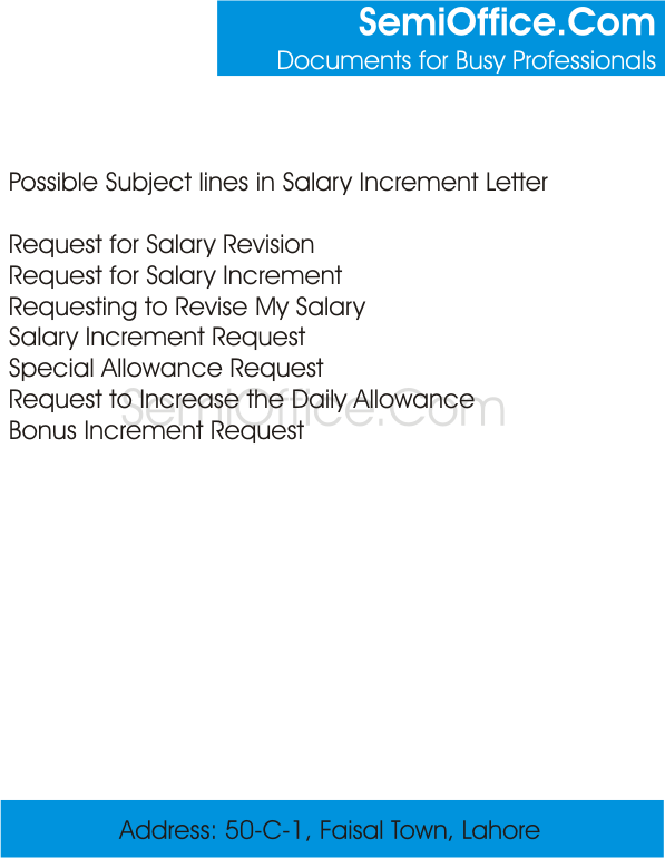 WhatistheSubjectinSalaryIncrementLetterpng – Request for Increment Letter