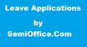 Leave Applications