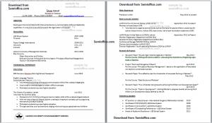 Sample Resume of Economics Major