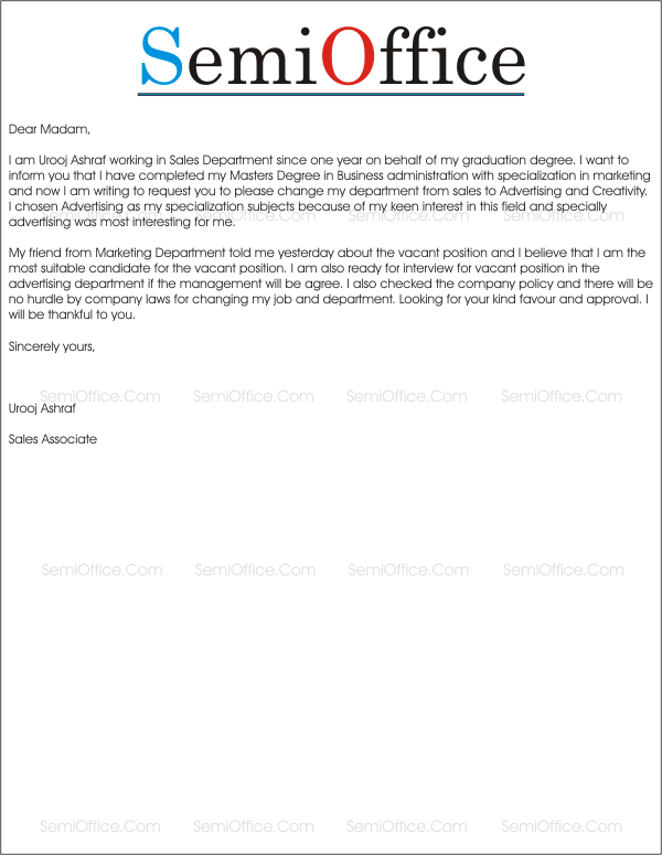 Career change cover letter examples for Change of career cover letter examples