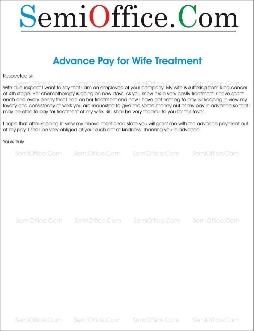 advance Archives SemiOfficeCom – Salary Application Format