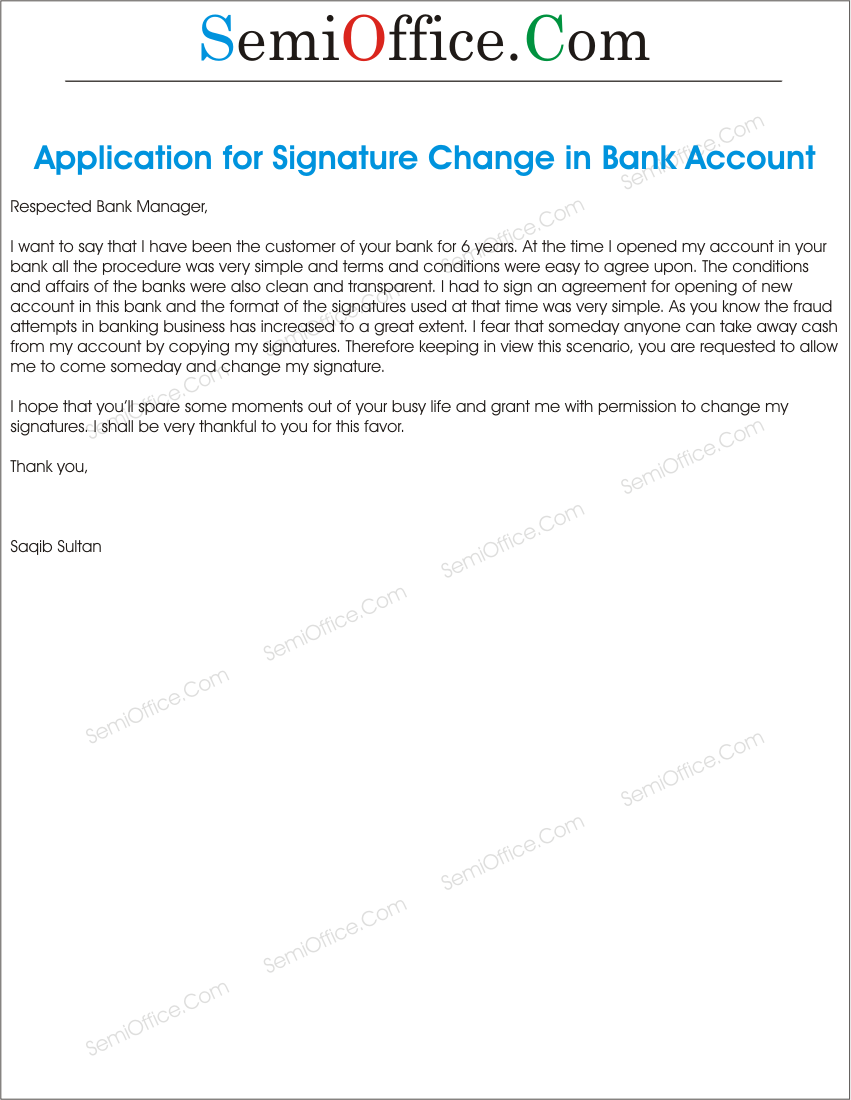 ApplicationToBankInOrderToChangeTheSignaturespng – Bank Application