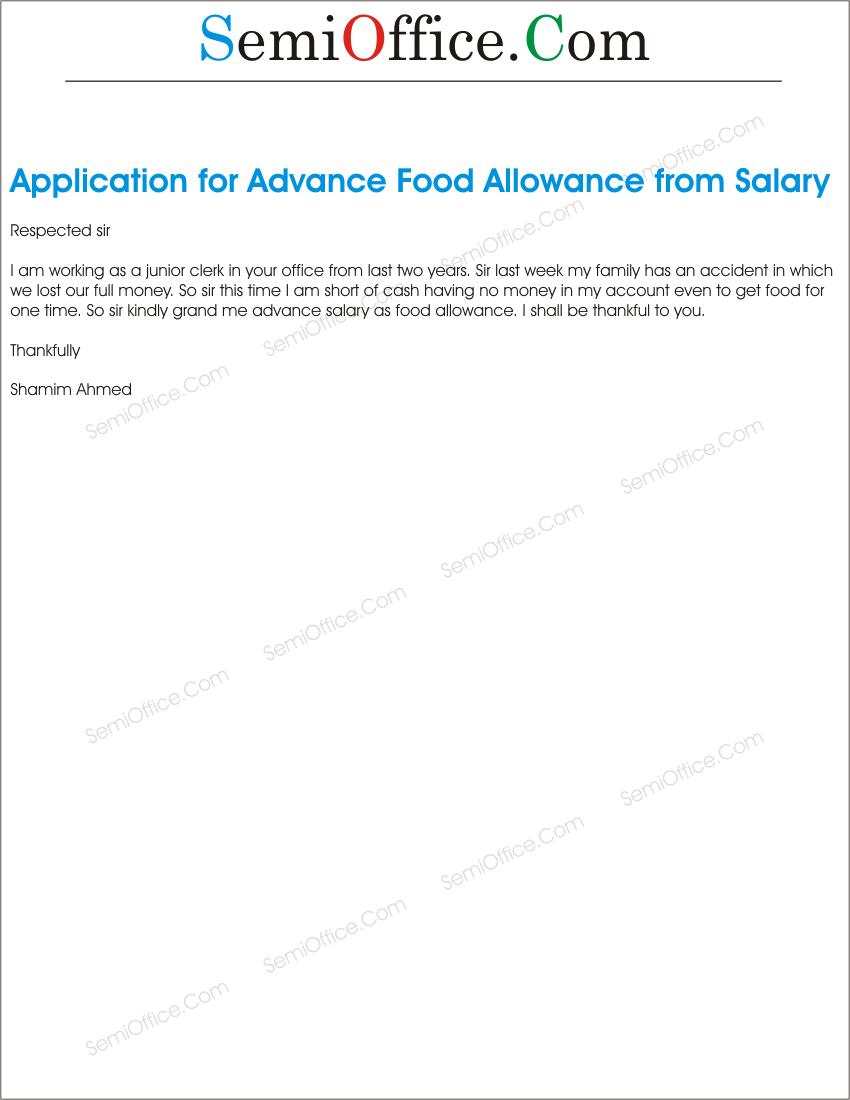 hra application letter