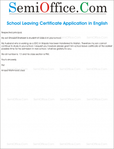 Application letter format school leaving certificate how to write public school tc request letter to school principal lbartman com professional resumes sample online altavistaventures Gallery