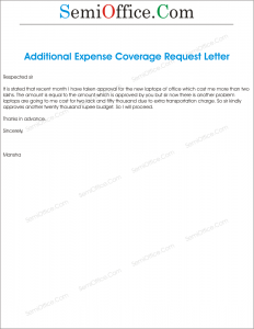 Cash Required for Additional Expense