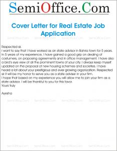 Sample Job Application for Real Estate or Property