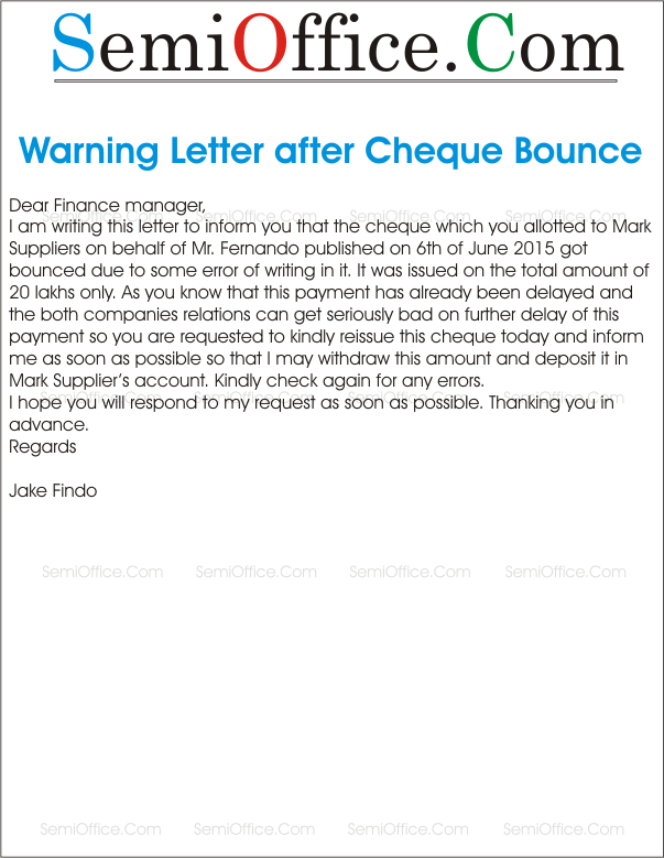 Warning letter after cheque bounce semioffice warning letter after cheque bounce june 14 2015 603 779 spiritdancerdesigns Image collections
