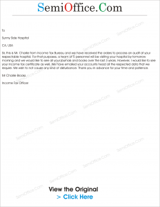 Request Letter for Income Tax Certificate from Bank